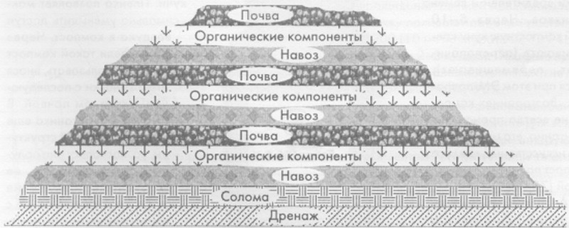 компостная яма своими руками фото
