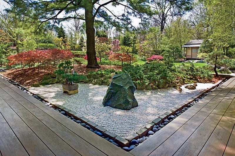 сад камней своими руками на даче фото