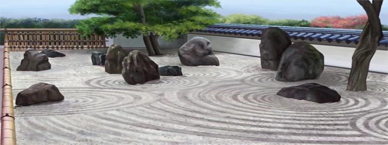 Японский сад камней: самостоятельное изготовление