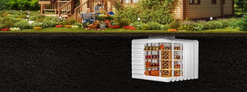 Пластиковый кессон для погреба: идеальное решение для дачи