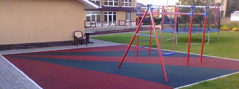 Резиновая тротуарная плитка: ее особенности и тонкости монтажа своими руками