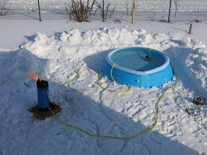 подогрев воды в бассейне фото