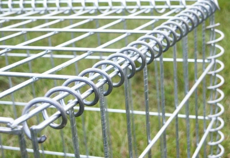 забор из габионов своими руками фото