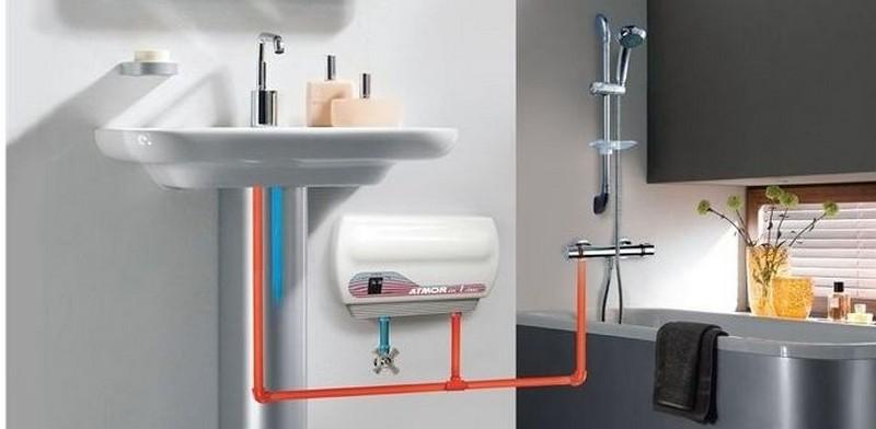 подключение проточного водонагревателя к водопроводу фото