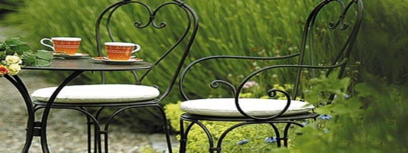 Кованая мебель для сада: особенности и принцип самостоятельного изготовления