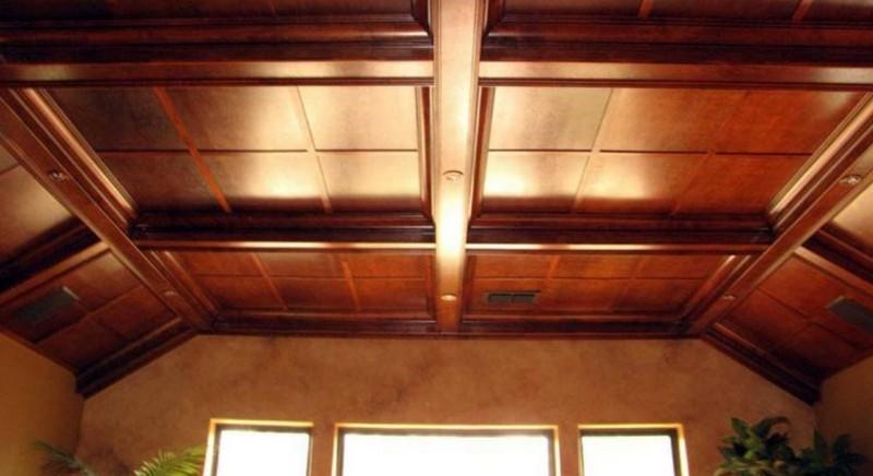 чем подшить потолок в доме фото