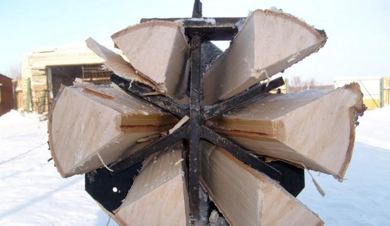 как сделать колун для дров фото