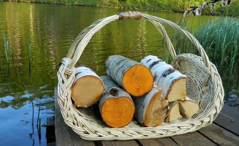 Поленница для дров фото