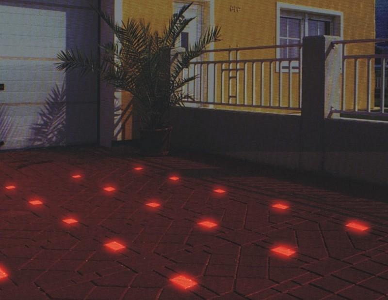тротуарная плитка, светящаяся в темноте фото