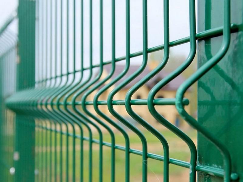 забор гиттер 3D фото